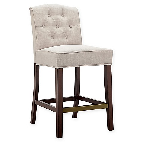 Madison Park Marian Counter Stool In Tan Bed Bath Amp Beyond