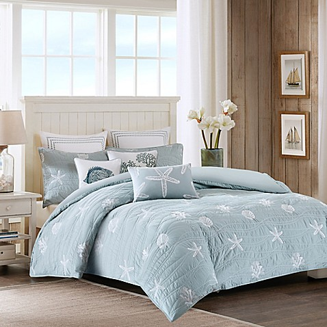 Harbor House Trade Seaside Quilted Duvet Cover Set