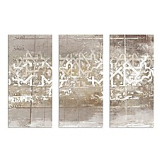 Numerica Triptych Canvas Wall Art (Set Of