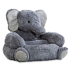 image of Trend Lab Elephant Children's Plush Character Chair