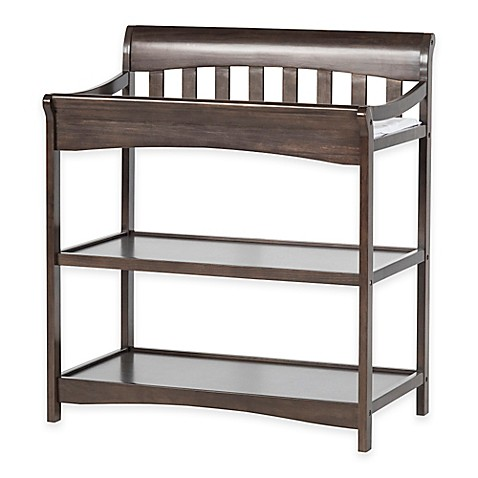 child craft coventry changing table in slate bed bath. Black Bedroom Furniture Sets. Home Design Ideas