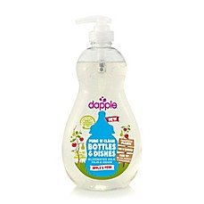 image of dapple® 16.9 oz. Pure 'N' Clean Baby Bottle and Dish Liquid Cleaner in Apple Pear