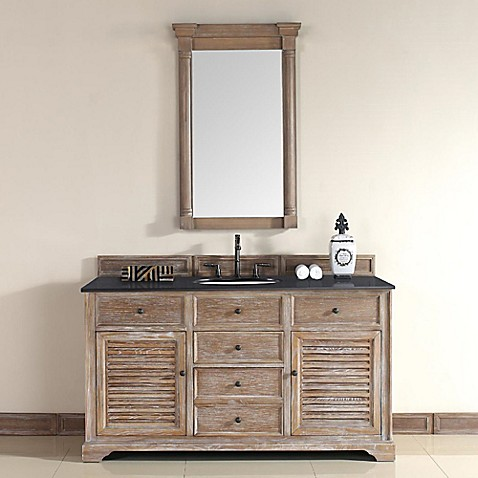 Savannah 60 Inch Driftwood Single Vanity With Drawers Collection Bed Bath Beyond