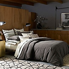 image of ED Ellen DeGeneres Mombasa Duvet Cover in Charcoal