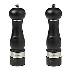 image of Cole & Mason Ardingly Carbon Salt and Pepper Mills