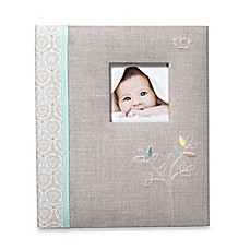image of C.R. Gibson® Linen Tree Loose Leaf Memory Book
