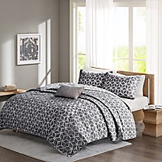 image of Madison Park Pure Alexa Reversible Coverlet Set