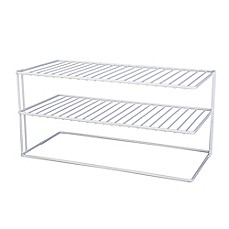 image of Large 2-Shelf Cabinet Organizer
