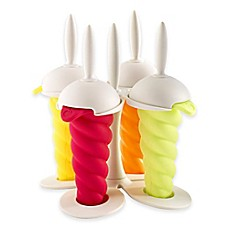 image of Mastrad® Spiral Ice Cream Pop Molds (Set of 4)