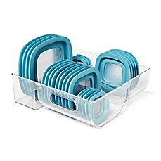 image of InterDesign® Cabinet Binz™ 3 Compartment Lid Organizer