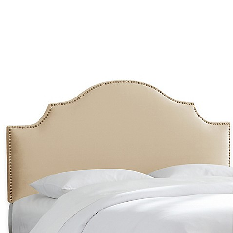 Bed Bath And Beyond Suede Headboard