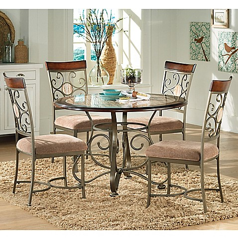 Steve Silver Co. Thompson 5 Piece Dining Set In Cherry