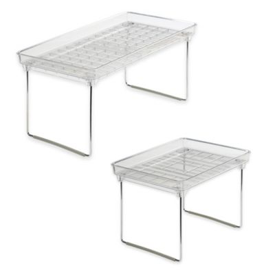 image of madesmart® Stackable Cabinet Shelf