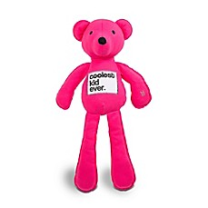 image of AMY COE by North American Bear Co. 20-Inch Coco Jersey Bear in Pink
