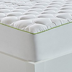 image of bedgear 40 hypercotton performance mattress pad in white