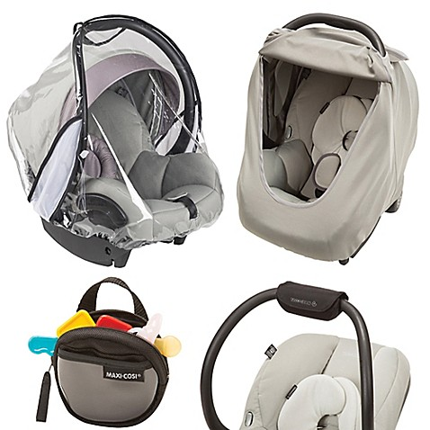 car seat travel accessories maxi cosi cosi 4 piece infant car seat accessory kit from buy buy. Black Bedroom Furniture Sets. Home Design Ideas
