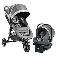 image of Baby Jogger® City Mini GT Travel System in Steel Grey