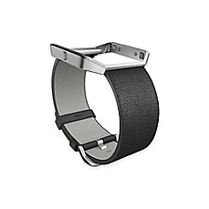 image of Fitbit® Blaze™ Leather Accessory Band in Black