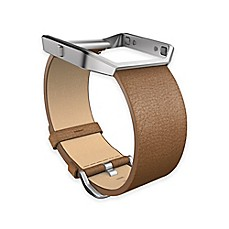 image of Fitbit® Blaze™ Small Leather Accessory Band in Camel