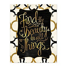image of Find Beauty Canvas Wall Art