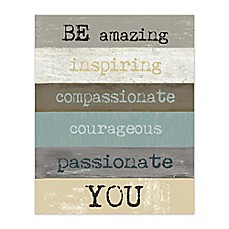 image of Be Amazing You Canvas Wall Art