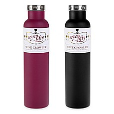 image of FIFTY/FIFTY Double-Wall Vacuum Insulated Wine Growler