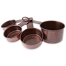 image of Thirstystone Antique Copper Finish Measuring Cups (set of 4)