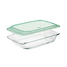 image of OXO Good Grips® Oblong Glass Baking Dish with Lid