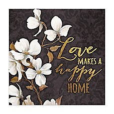 image of Loving Home Canvas Wall Art
