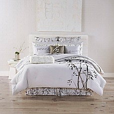 image of Kathy Davis Solitude Reversible Comforter Set