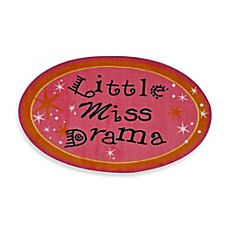 image of Fun Rugs 2-Foot 7-Inch x 2-Foot 3-Inch Little Miss Drama Rug