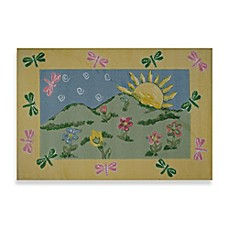 image of Fun Rugs™ Dragonfly Morning 3-Foot 3-Inch x 4-Foot 10-Inch Area Rug