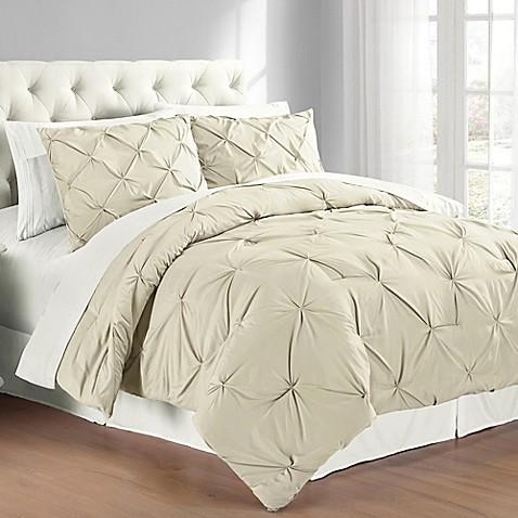 Pintuck Comforter Set Bed Bath Amp Beyond