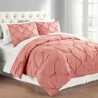 Pintuck Comforter Set Bed Bath Amp Beyond