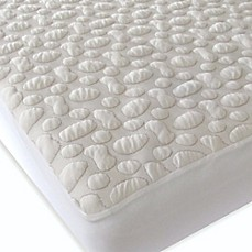 image of Forty Winks™ Pebble-Puff™ Organic Cotton Mattress Pad