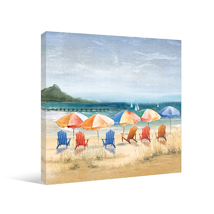 Beach Umbrella Heaven Canvas Wall Art Bed Bath Beyond