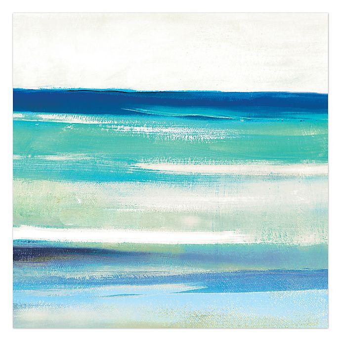 Cool Ocean Blues Canvas Wall Art