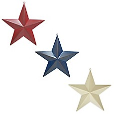 Image Of Metal Star Plaque Collection