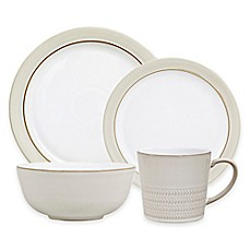 image of Denby Natural Canvas 4-Piece Place Setting