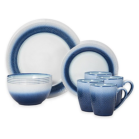 Pfaltzgraff\u0026reg; Eclipse 16-Piece Dinnerware Set ...  sc 1 st  Bed Bath \u0026 Beyond & Pfaltzgraff® Eclipse 16-Piece Dinnerware Set in Blue - Bed Bath \u0026 Beyond