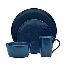 image of Noritake® Navy on Navy Swirl Round Dinnerware Collection