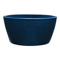 image of Noritake® Navy on Navy Swirl Soup/Cereal Bowl