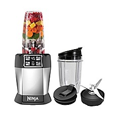 image of Nutri Ninja® 8-Piece One-Touch Intelligence Extractor Blender Set with Auto-iQ™
