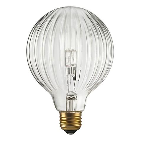Buy Globo 40 Watt Halogen Light Bulb In Clear From Bed Bath Beyond