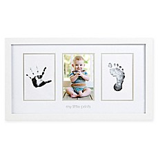 image of Pearhead® Babyprints 4-Inch x 6-Inch Photo Frame in White