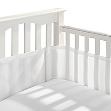 image of BreathableBaby® Breathable Mesh Crib Liner in White