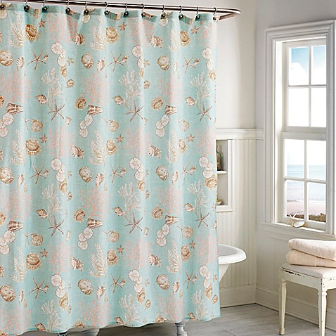 India InkTM Depoe Bay Shower Curtain