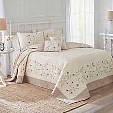 image of Nostalgia Home™ Jackson Bedspread in Ivory/Taupe