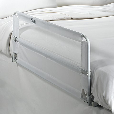hide away double sided portable bed rail by regalo. Black Bedroom Furniture Sets. Home Design Ideas