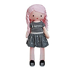 image of AMY COE by North American Bear Co. 15-Inch Betty Pink Doll
